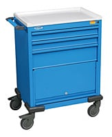 Three Drawer Emergency Cart
