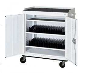 40 tablet mobile cart