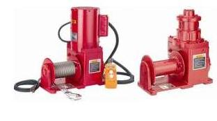 Helical Worm Gear Power Winches