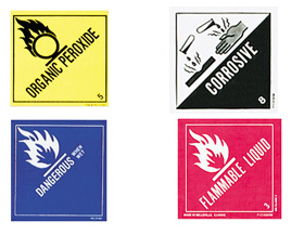 Dot Hazardous Material Labels