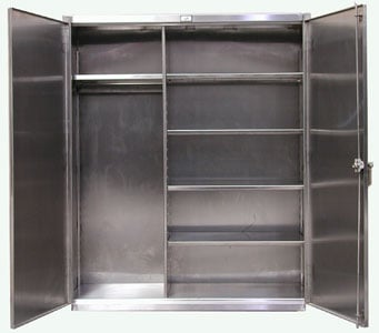 Stainless Steel Wardrobe Cabinet