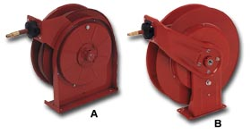 Spring Retractable Hose Reels With Hose
