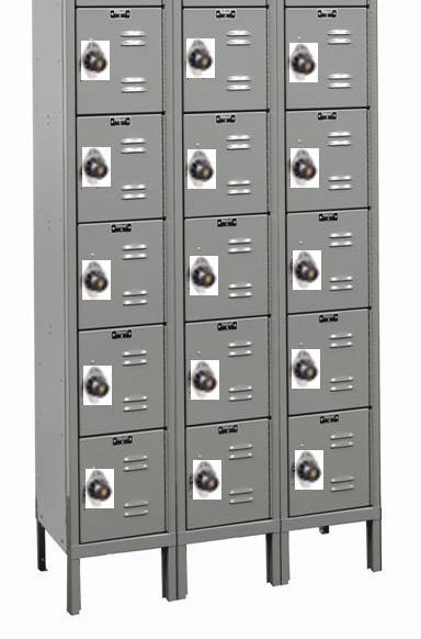 Lockmaster Five Tier Lockers