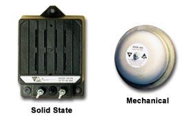 Solid State Mechanical Back Up Alarms