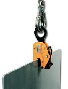 Vertical Lifting Clamp For Use With Hoists