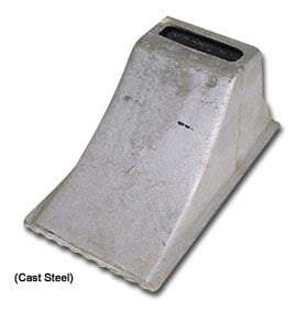Cast Steel Wheel Chock