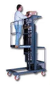 300 Lb One Person Order Picker Maintenance Lift