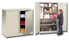 Superieur Lyon Deluxe Jumbo Metal Storage Cabinets