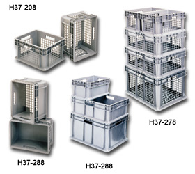 Akro Straight Wall Containers
