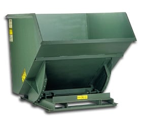 7 Ga Self Dumping Hopper And Stackable Hopper