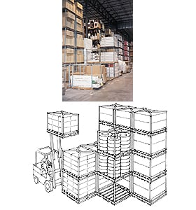 Tier Rack Pallet Stacking Frames