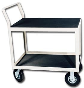 Deluxe Two Level Instrument Shelf Truck