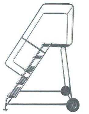 Outdoor Rolling Aluminum Ladders