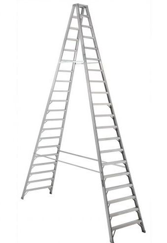 Aluminum front step ladder 20ft