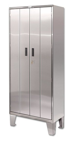 Economy Stainless Steel Storage Cabinets With Legs