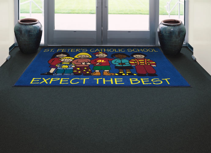 Indoor Logo Carpet Mats