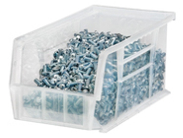 Quantum Clear View Clear Stacking Bins