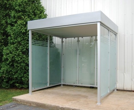 Deluxe smokers shelters from a plus warehouse for Outdoor storage shelter