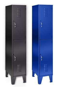 Double Tier Welded Metal Lockers