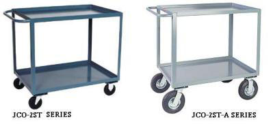 JamcoTwo Shelf Cart With Horizontal Handle