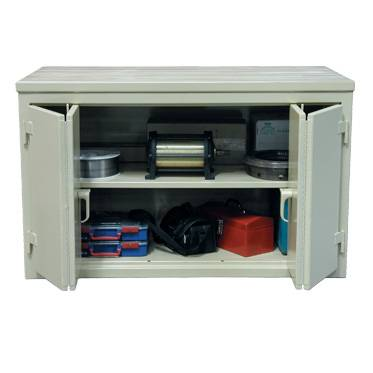 Heavy Duty Cabinet Workbeches With Bi-folding Doors