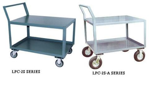 Low Profile Carts With Offset Handle