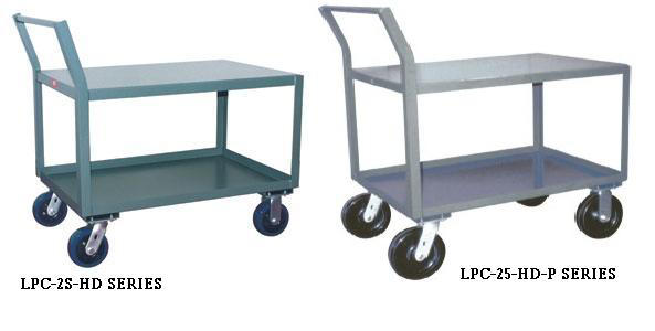 Heavy Duty Low Profile Carts With Offset Handle