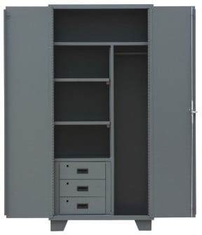 Welded 14 Gauge Combination Cabinets