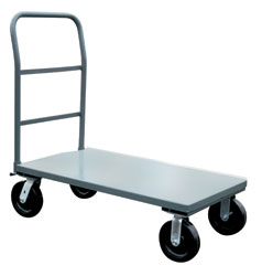 4000 Pound Capacity Steel Platform Trucks