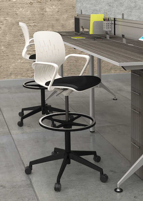 SHELL STOOL 7014 WITH EVEN