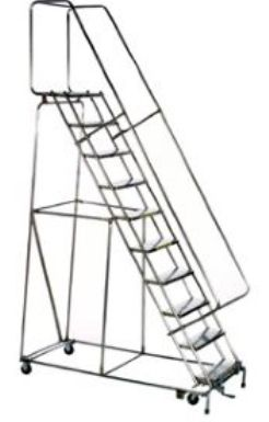 high stainless steel ladders