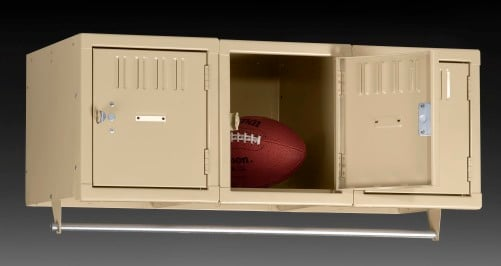 Three Person  Lockers