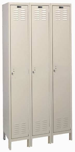 Inexpensive Single Tier Lockers
