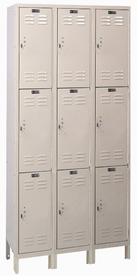 Inexpensive Triple Tier Lockers