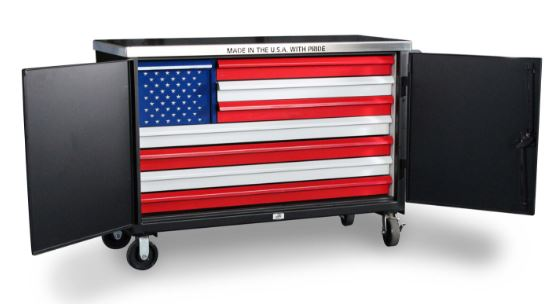 UNCLE SAM MOBILE CABINET