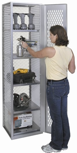 All Welded Storage Lockers