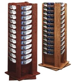 Wooden Rotating Displayr Rack