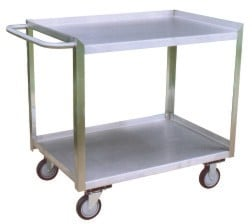 Two Shelf Stainless Steel Cart