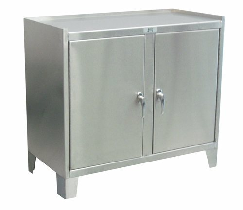 Stainless Steel Tall Kitchen Cabinet: Stainless Steel Cabinet With 2 Doors By Jamco