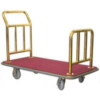Luggage Platform Truck With Titanium Gold Plated Tubing