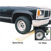 Car Stops And Speed Bumps