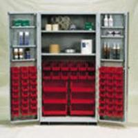 Canada Stock Bin Cabinets With 64 Bins