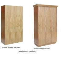 Single Tier Assembled Wood Club Lockers