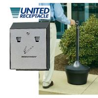 Safe Cigarette Disposal Containers