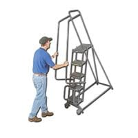 Tilt And Roll Ladders
