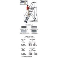 M 2000 Rolling Safety Ladders