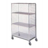 Three Sided Wire Cage Cart