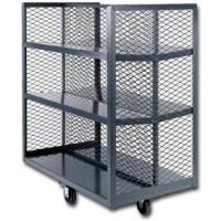 Mesh Stock Shelf Truck