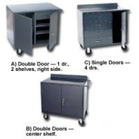 Narrow Mobile Steel Cabinets