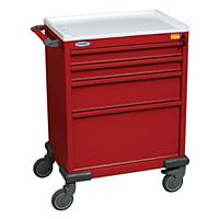 Standard Four Drawer Emergency Cart